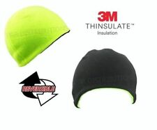 Pro Climate Hi Viz 3m Fleece Workwear Outdoor Thermal Winter Reversible Beanie