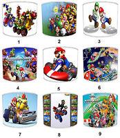 Lampshades Ideal To Match Super Mario Kart Duvets & Super Mario Kart Wall Decals