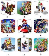 Abat-jour Idéal Correspond À Super Mario Kart Couettes & Autocollants Murales