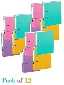 Lever Arch Files display folder a4 binder dividers, Document Organiser, 12 Pack