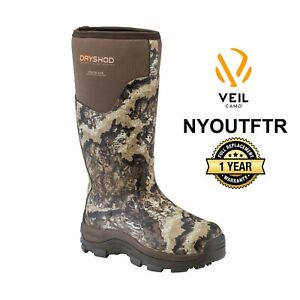 Dryshod Southland Veil Camo Warm Weather Hunting Boot Size 12 STH-MH-CM
