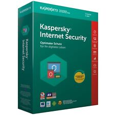 Kaspersky Internet Security 2018 3 PC 1Jahr VOLLVERSION / Upgrade 2019 DE-Lizenz