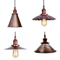Vintage Industrial Style Ceilinglight Modern Retro Metal Pendant Light Free Bulb
