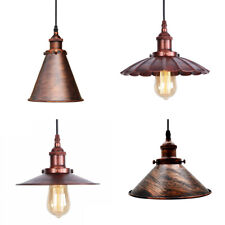 Vintage Industrial Style Ceiling Pendant light Modern Retro Metal Lamp shades UK