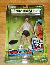 2000 WWF Jakks Al Snow Job Squad Wrestling Figure WWE MOC Wrestlemania