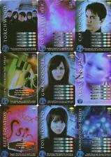Torchwood CCG Complete Set of 25 Rare Cards - Torchwood Game Cards - New