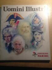 UOMINI ILLUSTRI - Panini 1980 - Album VUOTO-EMPTY