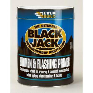 EVERBUILD 902 5L BLACK JACK BITUMEN AND FLASHING PRIMER 5 LITRE