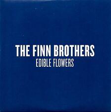 FINN BROTHERS - EDIBLE FLOWERS - RARE PROMO CD SINGLE - CARD COVER - MINT