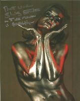 James Bond Shirley Eaton Goldfinger signed authentic autographed photo AK1380