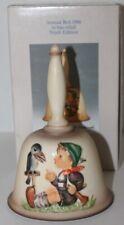 "Vintage M I Hummel Goebel Annual Bell 1986 ""Sing Along� Hum 708 - Mib"