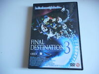 f DVD - FINAL DESTINATION 3  la faucheuse triple la mise...
