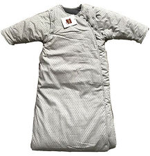 BNWT: Bebe Chocolate Sleeping Bag, Grey Star Pattern, Size 6-36 Months
