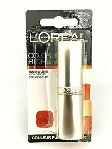 L'Oreal  Color Riche Lipstick - 293 Orange Fever - Card Sealed