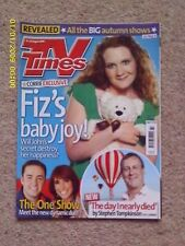 TV TIMES MAGAZINE 2010 STEPHEN TOMPKINSON/MICHAEL BALL/ALEX JONES JASON MANFORD