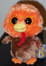 "NMT* Ty Beanie Boos ~ GOBBLER the 6"" Turkey ~ MINT with NEAR MINT TAGS ~ RETIRED"