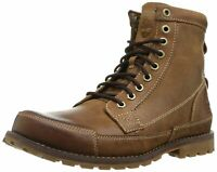 Timberland Mens earthkeepers 6' Leather Almond Toe, Burnished Brown, Size 15.0 Z