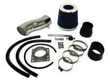 Black Blue For 1993-1997 Nissan ALtima 2.4L L4 Air Intake System Kit + Filter