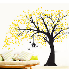Large Tree Removable Wall Stickers Art Decor Mural Home Room Kids DIY Decoration