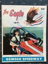 1971 Oswego Speedway Program Vol.8 #10 Fred Graves