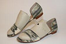 Tory Burch Womens Size 7.5 M Savannah Flat Slip On Leather Sandal Shoes 11158524