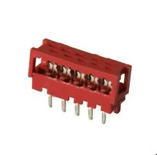 IDC Steckverbinder 10-polig, 2-reihig (2x5) RM2,54mm Micro-Match 8-215570-0, 2St