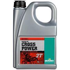 Motorex Motocross Cross Power Engine Oil 10w50 2T 4 Litre TC 125 250 2017 2018