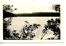 Woahink Lake Scenic Water View-Oregon Coast-RPPC-Vintage Real Photo Postcard
