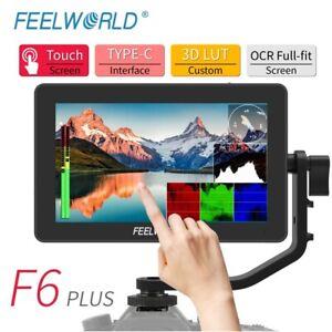 "FEELWORLD LUT6S 6"" Touch Screen 3G-SDI 4K HDMI Field camera Monitor IPS1920x1080"