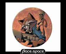 FREE COMIC BOOK DAY 2017 GUARDIANS OF THE GALAXY ROCKET & BABY GROOT PIN BADGE