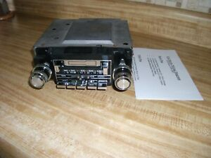 1978-1987 GMC Olds Buick Pontiac Chevrolet Delco AM FM Stereo PB Cassette Radio