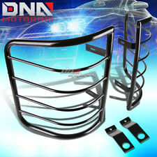 FOR 07-13 GM SILVERADO/SIERRA BLACK COATED STEEL TAIL LIGHT CAGE GUARD+MOUNTING