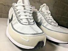 Nike Air Zoom Spiridon 16 Shoes Men's Size 9 White Silver Running Trainer New