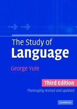 The Study of Language,George Yule- 9780521543200