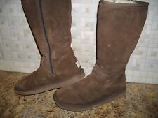 UGGS WOMENS BOOTS SIZE 6 ZIP UP SIDE UGGS BOOTS WOMENS BOOTS SIZE 6