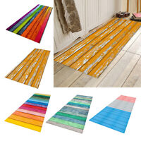 Non Slip Runner Rug Bathroom Room Floor Mat Doormat Entrance Rugs Waterproof