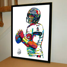 Tom Brady Tampa Bay Buccaneers QB Football Sports Poster Print Wall Art 18x24