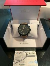 USED Tissot Men's Chrono XL Classic Leather Strap Watch T1166171604700