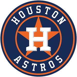 Houston Astros cornhole set of 2 decals ,Free shipping, Made in USA #