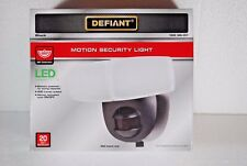 Defiant 180° Motion Activated LED Security Light  Battery Powered NIB
