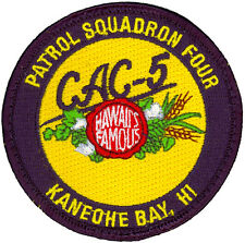 USN PATROL SQUADRON FOUR (VP-4) PATCH - COMBAT AIR CREW 5