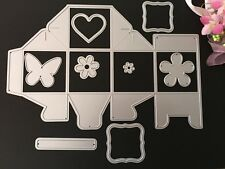 Metal Die Cutters Cards Wedding Sweets Biscuits Gift Box Cutting Dies DC1007