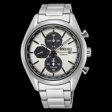 Seiko Prospex Solar Men's Stainless Steel Chronograph Watch SSC769P1 Panda