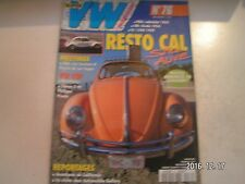 **d Super VW Magazine n°76 USA : Cabriolet 1965 / GB : Ovale 1954
