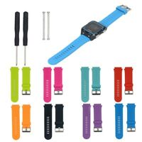 Replacement Silicone Watch Band Wrist Strap And Tool for Garmin Forerunner 920XT