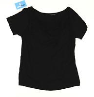 Wardrobe Womens Size 14 Black Layered Top (Regular)