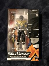 Power Rangers Lightning Collection Walgreens Exc Dragon Shield Black Ranger New