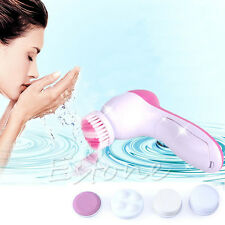 Professional Face Facial Cleansing Brush Skin Care Massage Spa Exfoliator Clean