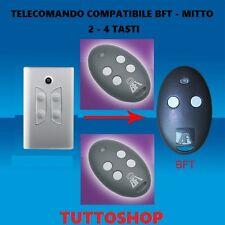 TELECOMANDO CANCELLO COMPATIBILE BFT MITTO 2 / 4 TASTI 433.92Mhz ROLLING CODE