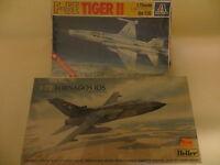 F-5E TIGER II;TORNADOS IDS;ITALERI;HELLER IN SCALA 1:72